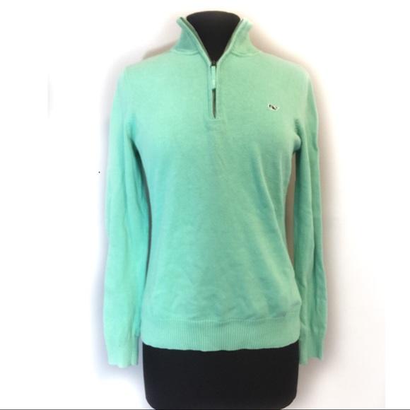 Vineyard Vines Women's 12 Zip Sweater